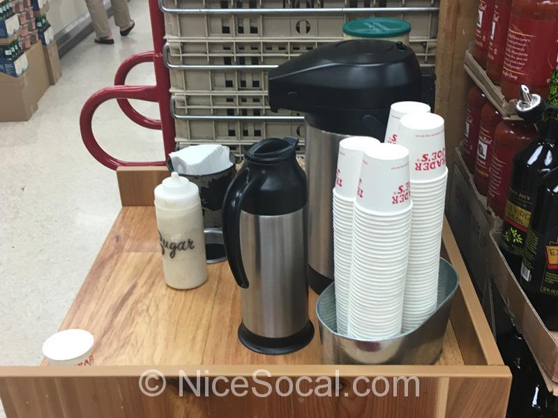 無料のコーヒー