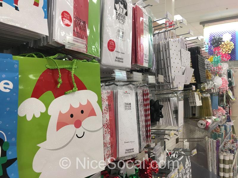 クリスマスの紙袋