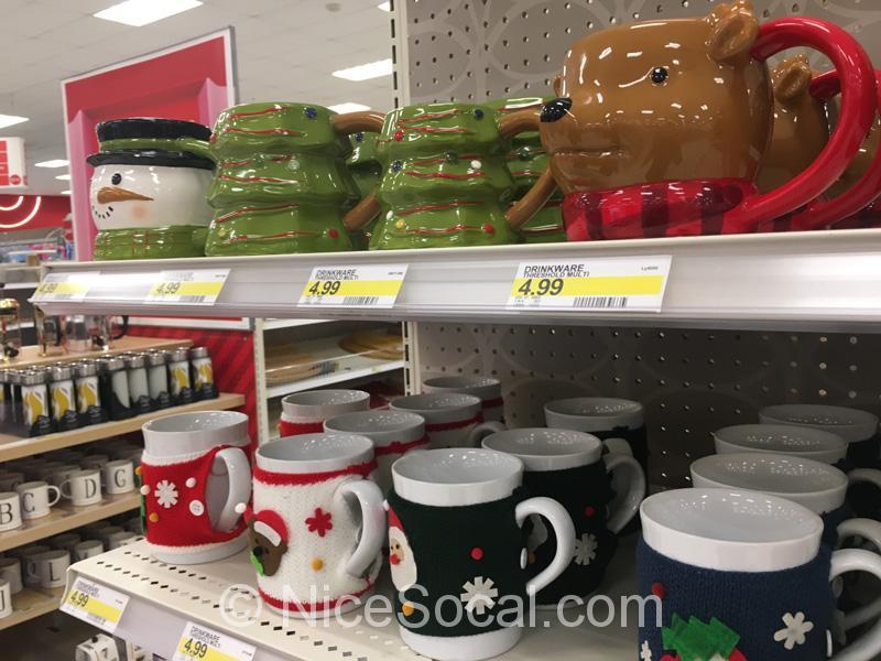 クリスマスのマグカップ