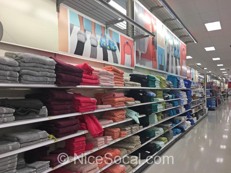 色んな色のタオル