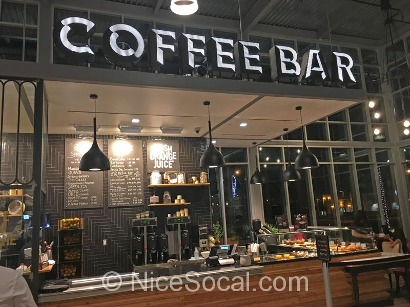 Porto's Coffeeエリア