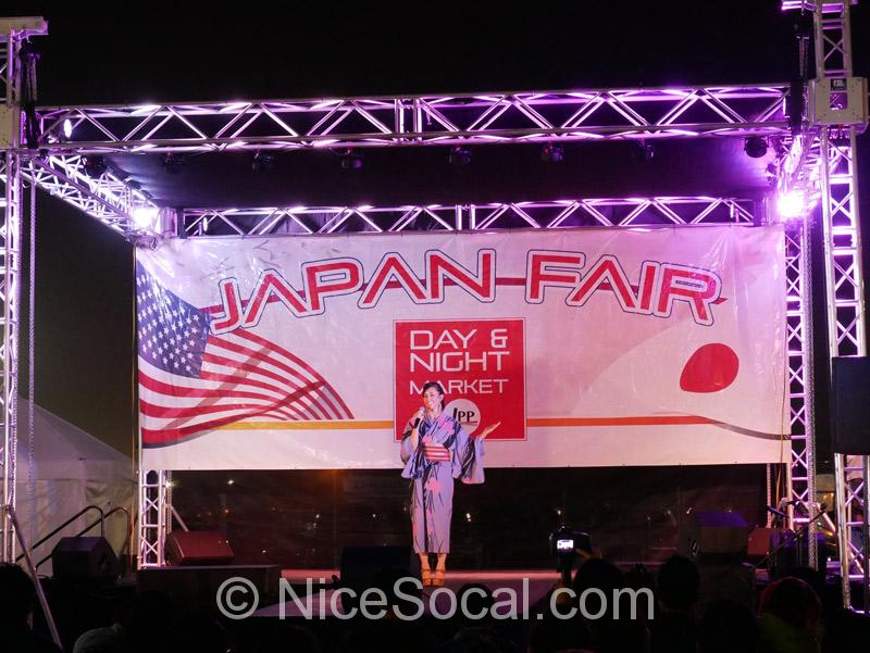 OC Japan Fairのステージ