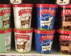 ストラウスのオーガニックアイス