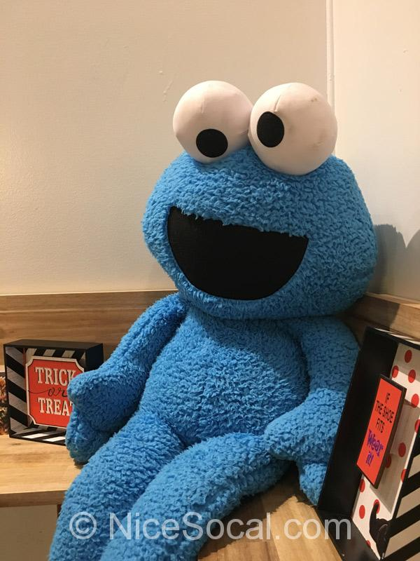 店内にあったクッキーモンスター