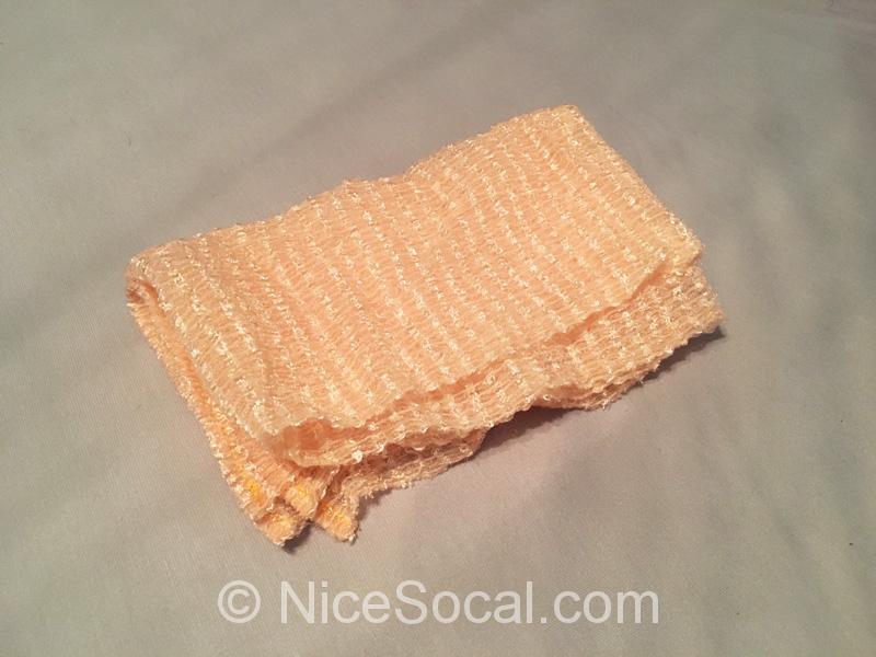 体を洗うタオル