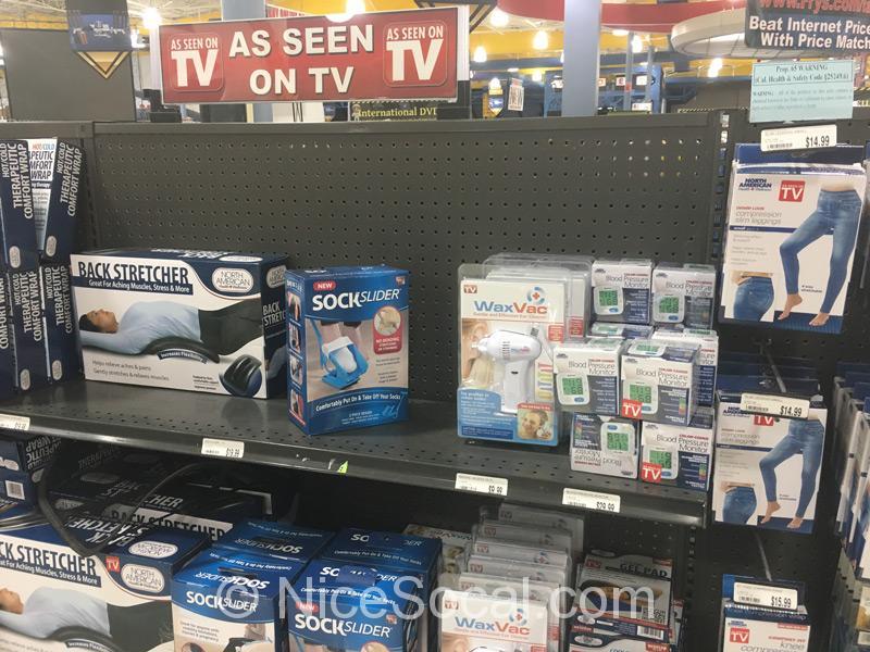 テレビショッピングの品