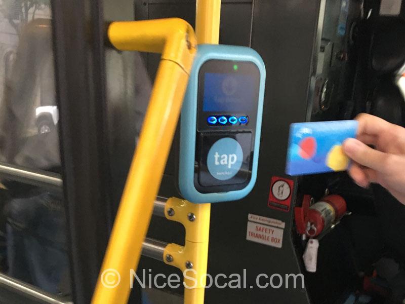 メトロ・バスのTAP