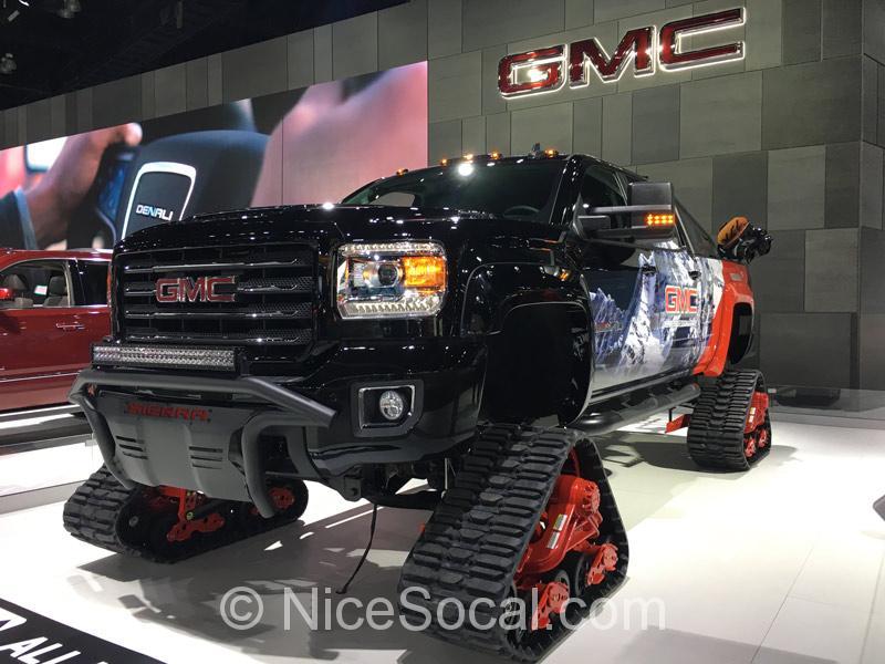 GMCのトラック