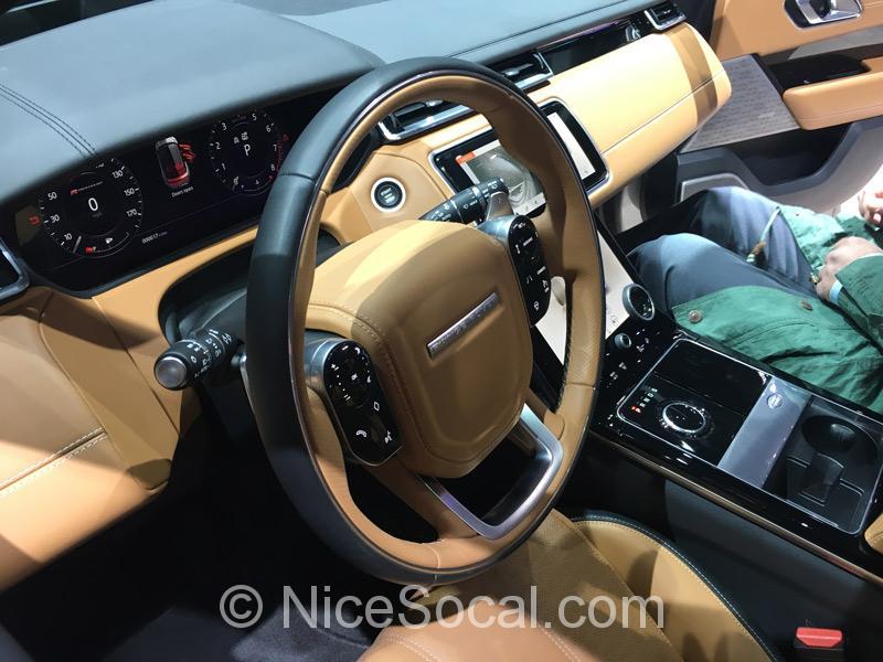 Range Rover Velar内装