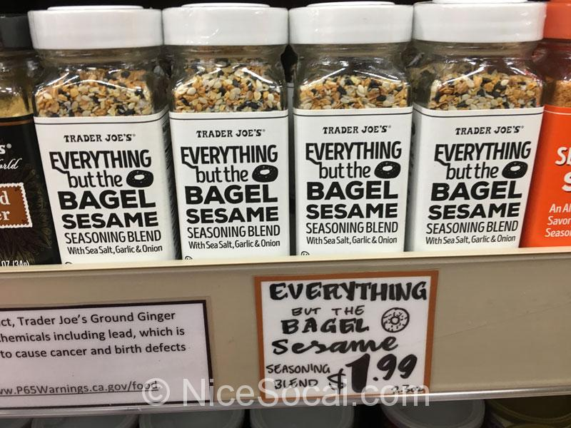 everything but the bagle sesami seasoning
