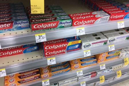 アメリカの歯磨き粉
