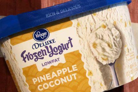 Krogerlowfat frozen yogurt
