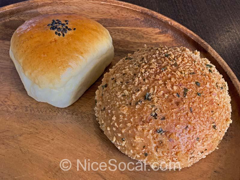 カレーパンとあんパン