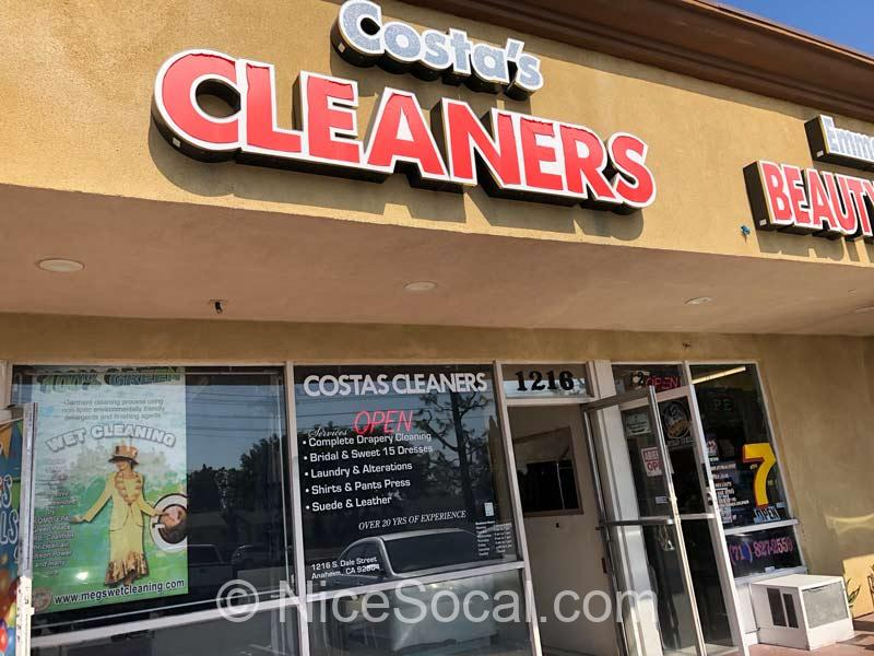 cleaning store