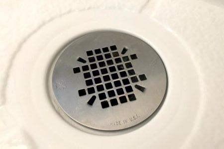 シャワーの排水口