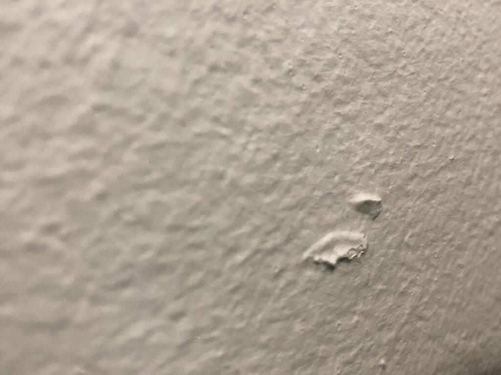 壁の出っ張り