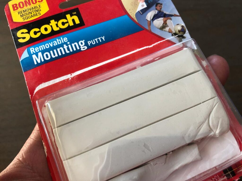 mounting putty