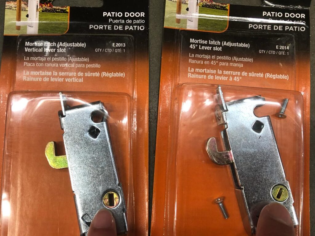 mortise lock vertical and 45degree